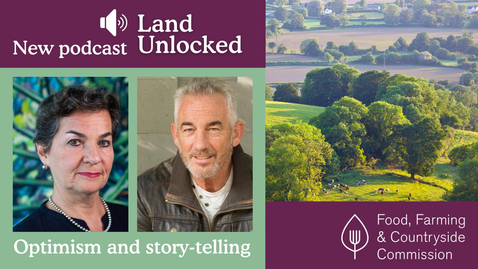 Land Unlocked - Optimism & story-telling